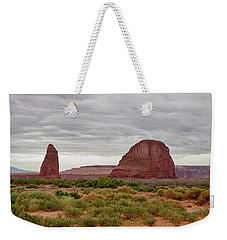Weekender Tote Bag featuring the photograph Round Rock by James BO Insogna