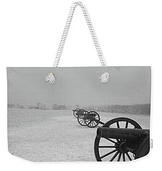 Row Of Cannon Weekender Tote Bag