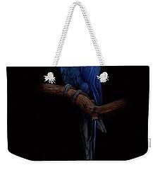 Royal Blue Beauty  Weekender Tote Bag
