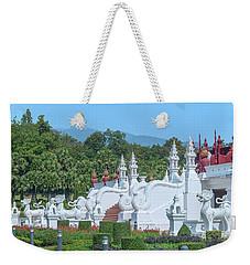 Royal Park Rajapruek Grand Pavilion Stairway Guardians Dthcm2607 Weekender Tote Bag