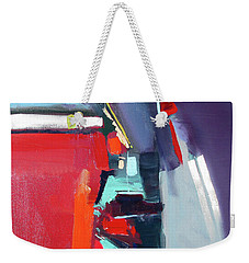 Weekender Tote Bag featuring the painting Royal Sound by John Jr Gholson