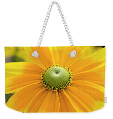 Weekender Tote Bag featuring the photograph Rudbeckia Prairie Sun Flower by Tim Gainey