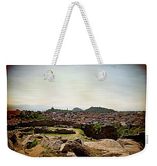 Ruins On The Top Of The Hill Weekender Tote Bag