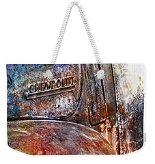 Rusty Rainbow Weekender Tote Bag