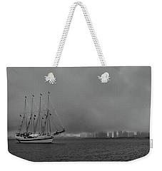 Sail In The Fog Weekender Tote Bag
