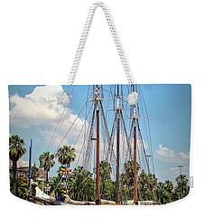 Sailing In Barcelona Weekender Tote Bag