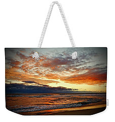Weekender Tote Bag featuring the photograph Early Autumn Morning by Don Moore
