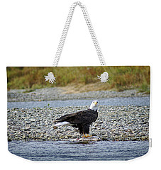 Salmon For Supper Weekender Tote Bag