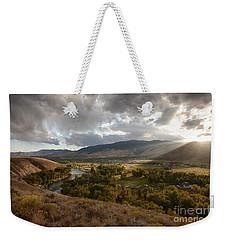 Salmon Valley Sun Weekender Tote Bag
