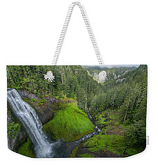 Weekender Tote Bag featuring the photograph Salt Creek Falls And Gorge by Matthew Irvin