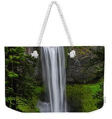 Weekender Tote Bag featuring the photograph Salt Creek Falls by Matthew Irvin