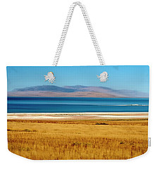 Salt Lake Abstract Weekender Tote Bag