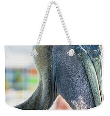 Weekender Tote Bag featuring the photograph Sam by Melissa Lane