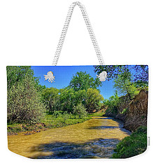 Weekender Tote Bag featuring the photograph Sandhills Summer by Dan Miller