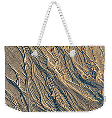 Weekender Tote Bag featuring the photograph Sandmotion by Tim Gainey