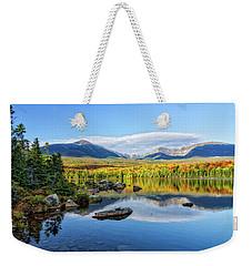 Sandy Stream Pond Baxter Sp Maine Weekender Tote Bag