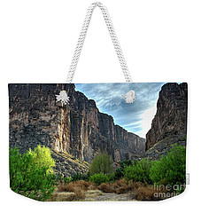 Santa Elena Canyon Weekender Tote Bag