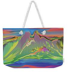 Santa Fe Sunset Weekender Tote Bag