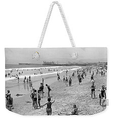 Santa Monica Beach Circa 1920 Weekender Tote Bag