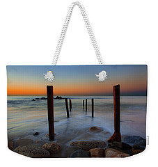 Santa Monica Sunrise Weekender Tote Bag