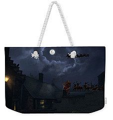 Santas Weekender Tote Bag