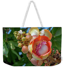 Sara Tree Or Cannonball Tree Flower And Buds Dthn0264 Weekender Tote Bag