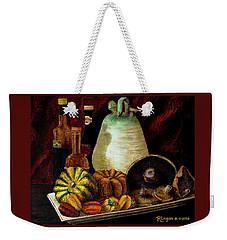 Savor Weekender Tote Bag