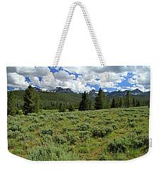 Sawtooth Range Crooked Creek Weekender Tote Bag