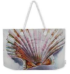 Scallop Seashell Weekender Tote Bag