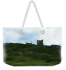 Scarborough Castle Painting Weekender Tote Bag