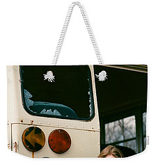 Weekender Tote Bag featuring the photograph School's Out by Carl Young