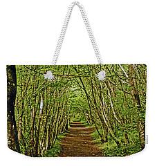Scotland. Killiecrankie. Path Through The Trees. Weekender Tote Bag