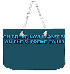 Scotus Weekender Tote Bag
