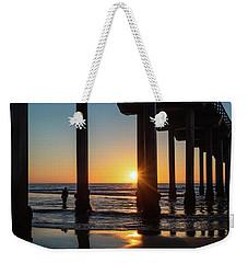 Scripps Pier Weekender Tote Bag