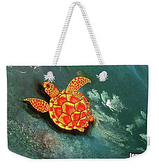 Sea Turtle  Weekender Tote Bag