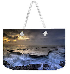 Sea Waterfalls Weekender Tote Bag