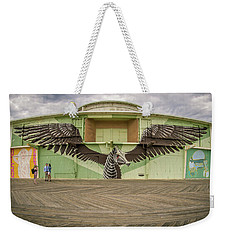 Weekender Tote Bag featuring the photograph Seahorse by Steve Stanger