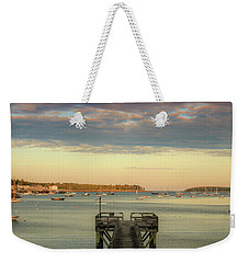 Weekender Tote Bag featuring the photograph Seal Harbor At Low Tide by Dan Sproul