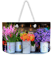 Seattle Flower Market Weekender Tote Bag