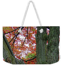 Seeing Autumn Weekender Tote Bag