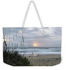 Weekender Tote Bag featuring the photograph Sept. 14, 2018 Sunrise  by Barbara Ann Bell