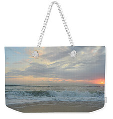 Weekender Tote Bag featuring the photograph September 23 2018  by Barbara Ann Bell