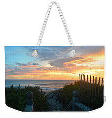 Weekender Tote Bag featuring the photograph September 28, 2018 Sunrise Nh  by Barbara Ann Bell