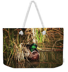 Weekender Tote Bag featuring the photograph Serene by Rick Furmanek