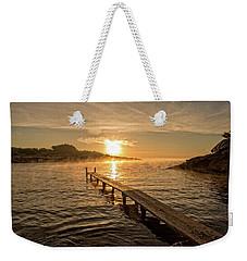Sespanyol Beach In Ibiza At Sunrise, Balearic Islands Weekender Tote Bag
