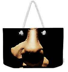 Weekender Tote Bag featuring the photograph Shadows Of Ancient Egypt by Sue Harper