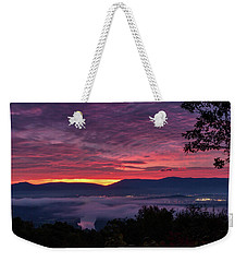 Shenandoah Valley Dawn Weekender Tote Bag