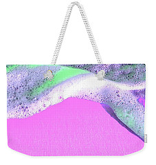 Weekender Tote Bag featuring the digital art  Sherbet Shores by Cindy Greenstein