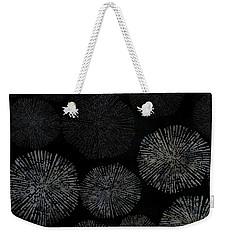 Shibori Sea Urchin Burst Pattern Weekender Tote Bag