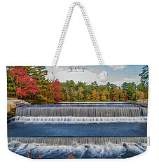 Weekender Tote Bag featuring the photograph Shining Bright  by Michael Hughes